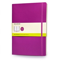 Zápisník, čistý, lila, měkký XL