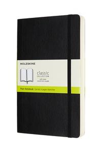 Zápisník Moleskine Expanded měkký čistý černý L