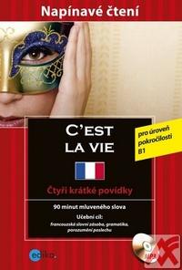 C´est la vie. Krimi francouzština + CD MP3