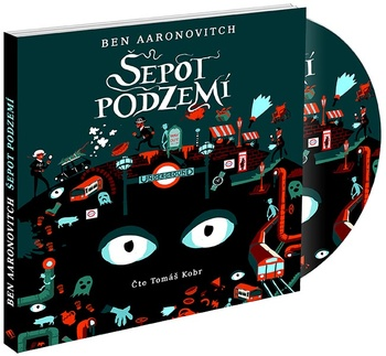 Šepot podzemí - CD MP3 (audiokniha)