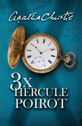 3x Hercule Poirot (slovenské vydanie)