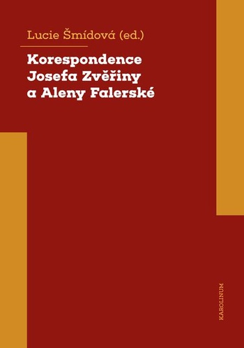Korespondence Josefa Zvěřiny a Aleny Falerské (1971-1975)
