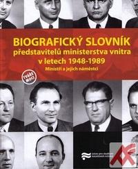 Biografický slovník představitelů ministerstva vnitra v letech 1948-1989