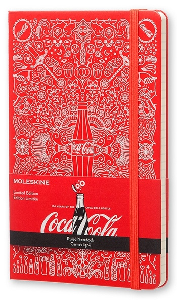 Coca-Cola zápisník linkovaný L