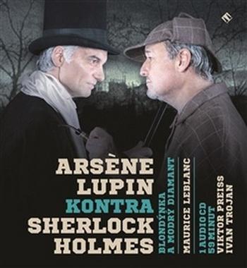 Arsen Lupin kontra Sherlock Holmes. Blondýnka a modrý diamant - CD (audiokniha)