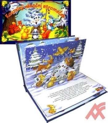 Kouzelný vánoční stromeček - leporelo