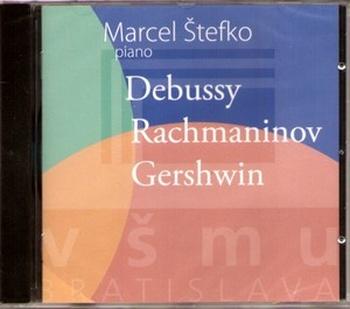 Debussy, Rachmaninov, Gershwin - CD