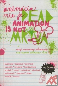Animácia nie je Dead / Animation is not Mŕtva - DVD