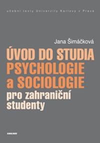 Úvod do studia psychologie a sociologie pro zahraniční studenty