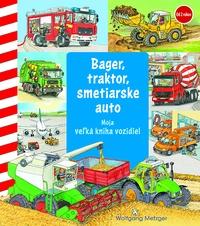 Bager, traktor, smetiarske auto