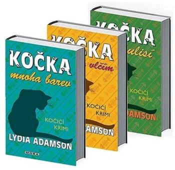 Kočičí krimi. Kočka v rouše vlčím, Kočka mnoha barev, Kočka v zákulisí (3x kniha