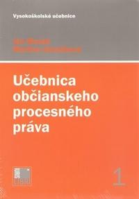 Učebnica občianskeho procesného práva 1 + 2