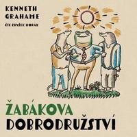 Žabákova dobrodružství - CD MP3 (audiokniha)
