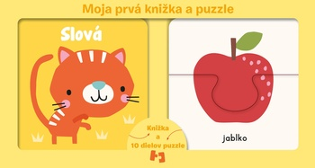 Moja prvá knižka a puzzle - Slová