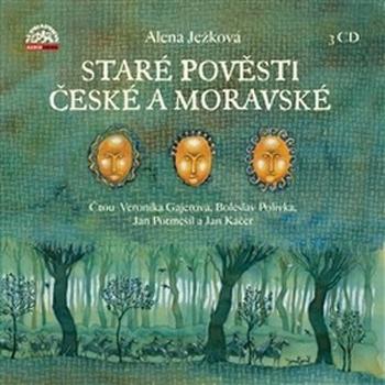 Staré pověsti české a moravské - 3 CD (audiokniha)