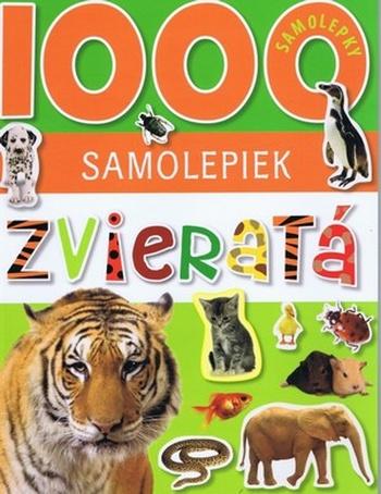 Zvieratá - 1000 samolepiek