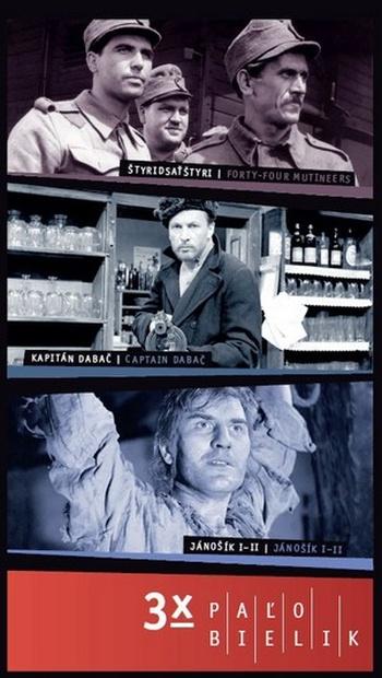 3x Paľo Bielik - 3 DVD