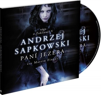 Paní jezera - 2CD MP3 (audiokniha)