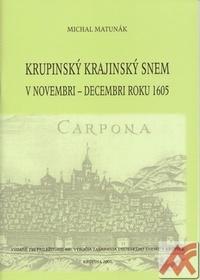 Krupinský krajinský snem v novembri-decembri roku 1605