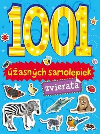1001 úžasných samolepiek. Zvieratá