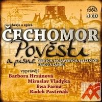 Pověsti a písně českých, moravských a slezských hradů a zámků - 3 CD (audiokniha