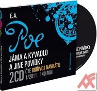 Jáma a kyvadlo a jiné povídky - 2 CD (audiokniha)