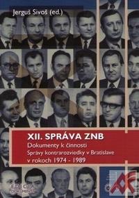 XII. správa ZNB