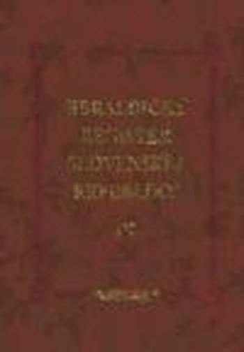 Heraldický register Slovenskej republiky III.