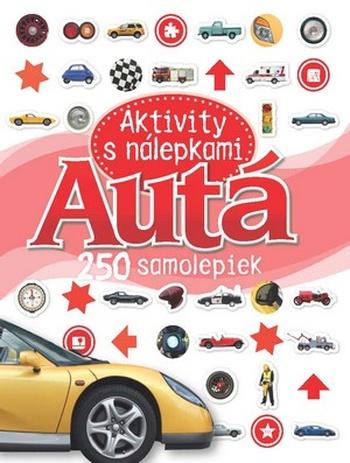 Autá - Aktivity s nálepkami