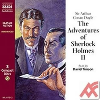 The Adventures of Sherlock Holmes II. - 3 CD (audiokniha)