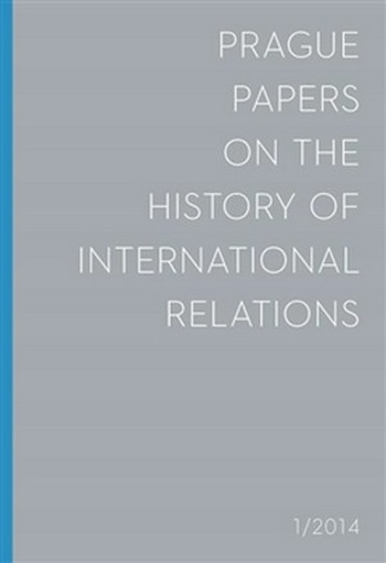 Prague Papers on History of International Relations 1/2014