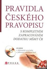 Pravidla českého pravopisu + CD (Computer Press)