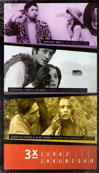 3x Juraj Jakubisko - 3 DVD