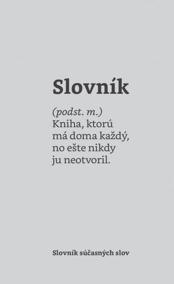 Slovník súčasných slov