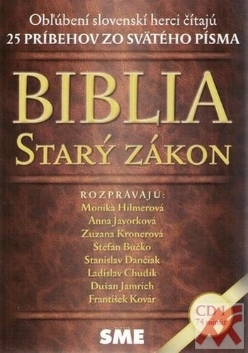 Biblia. Starý zákon 1 - CD (audiokniha)