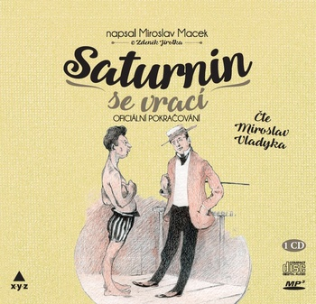 Saturnin se vrací - CD MP3 (audiokniha)