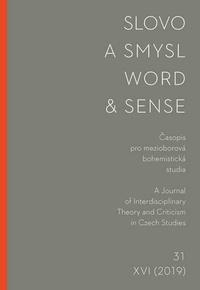 Slovo a smysl 31 / Word & Sense 31