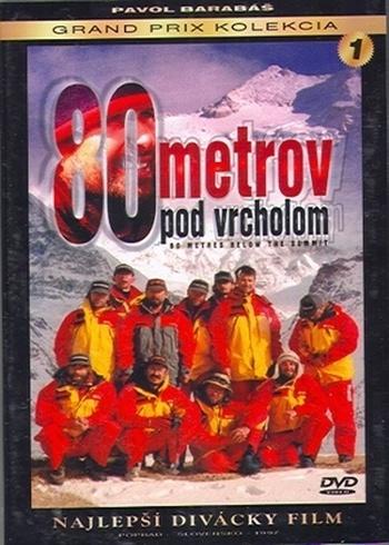 80 metrov pod vrcholom - DVD