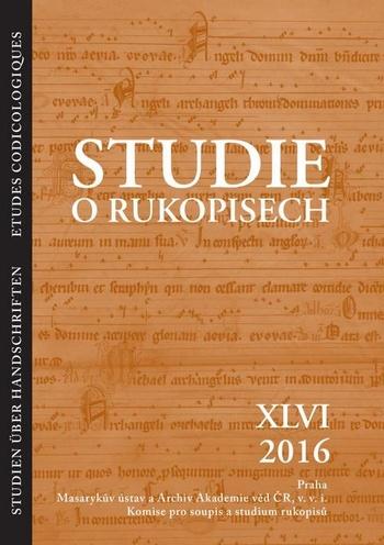Studie o rukopisech XLVI
