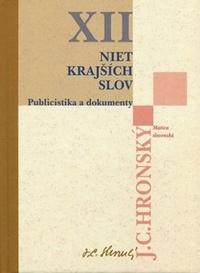 Niet krajších slov - Zobrané spisy XII.