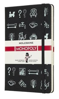 Monopoly zápisník Moleskine linkovaný Icons L