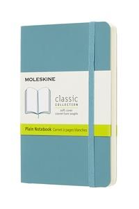 Zápisník Moleskine měkký čistý modrozelený S