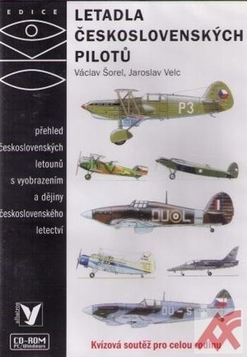 Letadla československých pilotů - CD-ROM