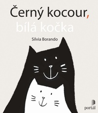 Černý kocour, bílá kočka