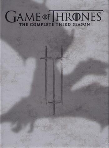 Hra o trůny. Kompletní 3. série - 5 DVD