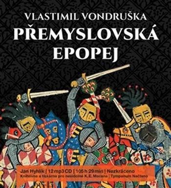 Přemyslovská epopej - komplet - 12 MP3 CD (audiokniha)