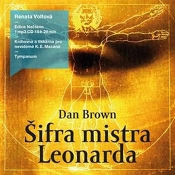 Šifra mistra Leonarda - CD MP3 (audiokniha)