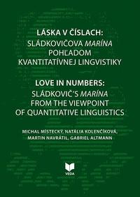 Láska v číslach: Sládkovičova Marína pohľadom kvantitatívnej lingvistiky