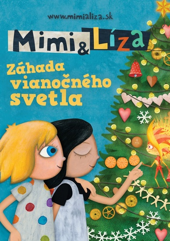 Mimi a Líza. Záhada vianočného svetla - DVD