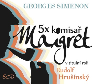 5x komisař Maigret - 5 CD (audiokniha)